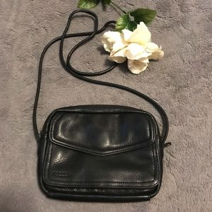 Fossil crossbody with built-in wallet